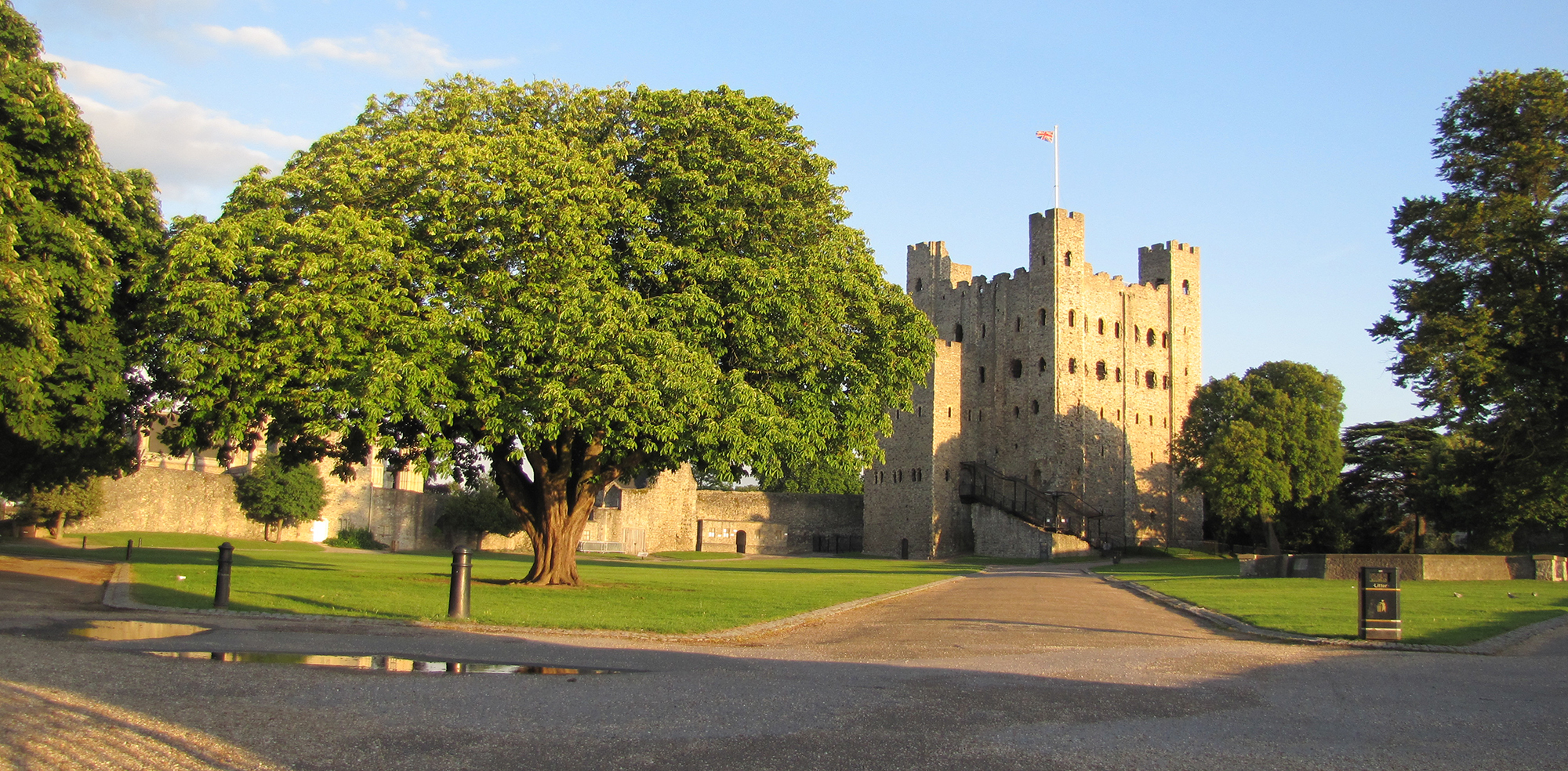 Rochester Castle Crop