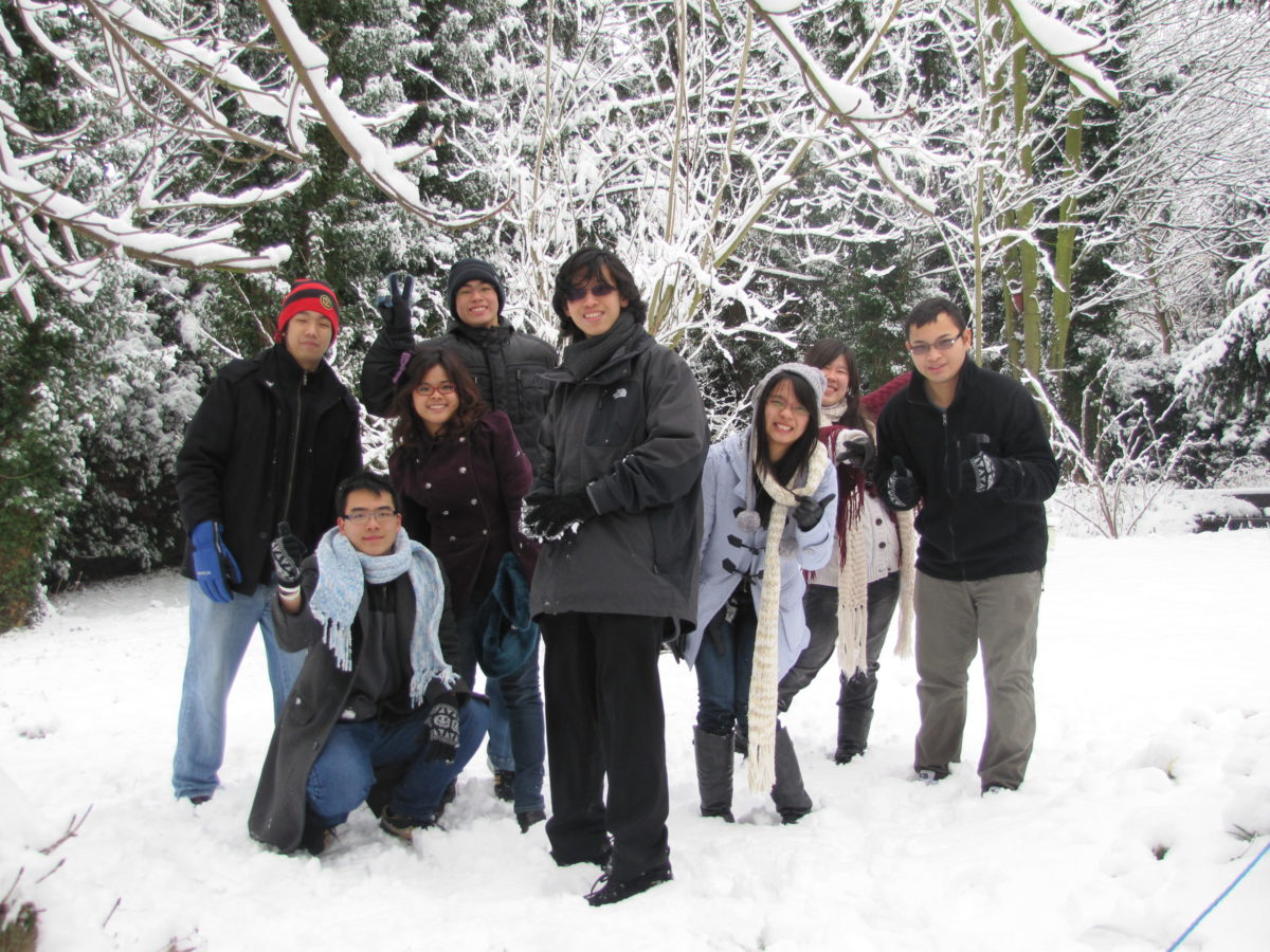 College Life Thais In The Snow Early 2012