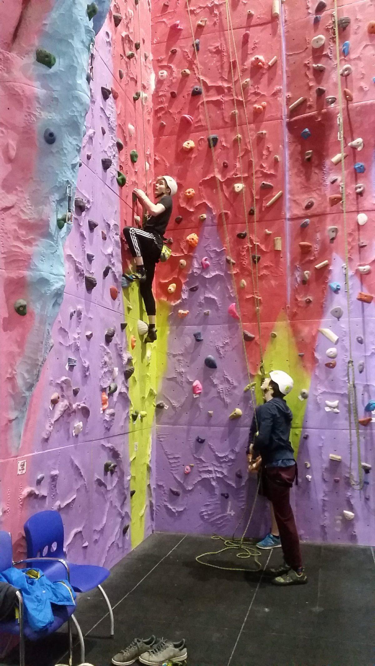 Ric Rock Climbing 1