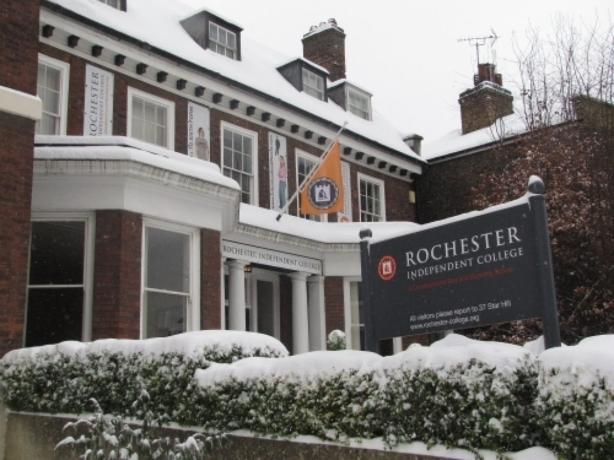 College In Snow